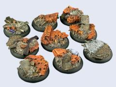 30mm Old Factory - Warmachine Round Bases