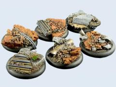 40mm Old Factory - Warmachine Round Bases
