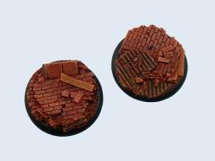 50mm Old Factory - Warmachine Round Base #1
