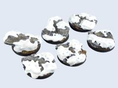 40mm Winter Shale - Round Bases