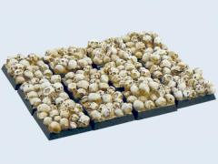 20x20mm Skull - Square Bases