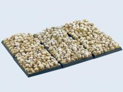 40x40mm Skull - Square Bases