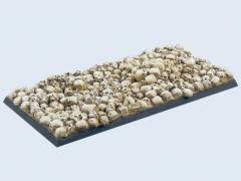 50x100mm Skull - Chariot Base