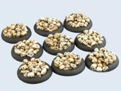 30mm Skull - Warmachine Round Bases
