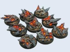 30mm Chaos - Warmachine Round Bases