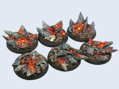 40mm Chaos - Warmachine Round Bases