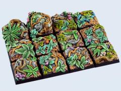 20x20mm Jungle - Square Bases