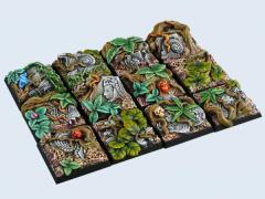 25x25mm Jungle - Square Bases