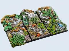 40x40mm Jungle - Square Bases