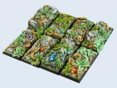 25x50mm Jungle - Cavalry Bases