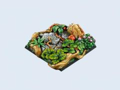 50x50mm Jungle - Square Base