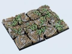 25x25mm Dark Temple - Square Bases