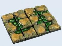 20x20mm Swamp - Square Bases