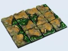 25x25mm Swamp - Square Bases