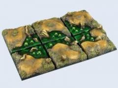 40x40mm Swamp - Square Bases