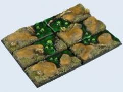 25x50mm Swamp - Cavalry Bases