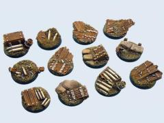 25mm Trench - Round Bases