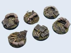 40mm Trench - Round Bases