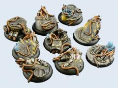 30mm Power Plant - Warmachine Round Bases