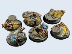 40mm Power Plant - Warmachine Round Bases