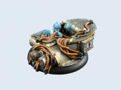 50mm Power Plant - Warmachine Round Base #3