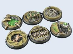 40mm BioTech - Warmachine Round Bases