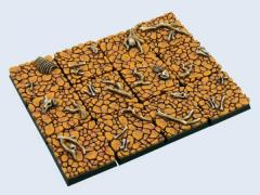 25x25mm Wasteland - Square Bases