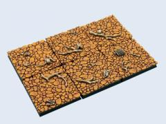 40x40mm Wasteland - Square Bases