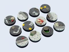 25mm Urban - Round Bases
