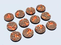 25mm Chaos Wastes - Round Bases
