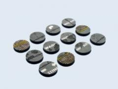 25mm Warehouse - Round Bases