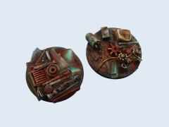 60mm Scrapyard - Round Flying Base