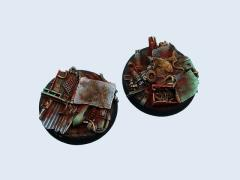 50mm Scrapyard - Warmachine Round Base