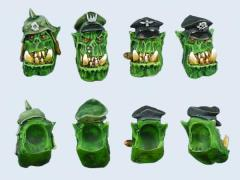 Orc Captain Heads #1