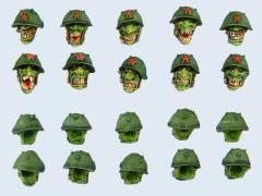Goblin Trooper Heads #1
