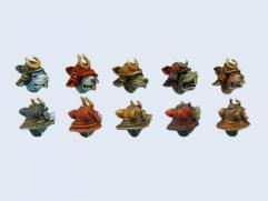 Nezumi Samurai Heads #1