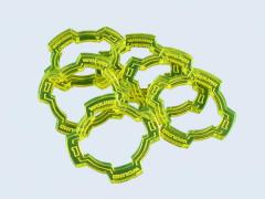 Wound Rings - Fluorescent Green (6)