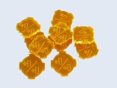 +1/+1 Tokens - Fluorescent Orange (10)