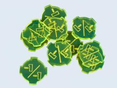-1/-1 Tokens - Fluorescent Green (10)