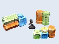 Cargo Crates Set #2