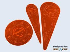 Infinity Templates - Orange