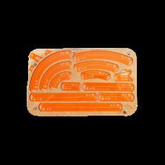 Space Fighter Maneuver Tray - Orange