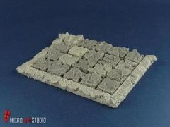 Rank Tray - 5x2 Formation, 25x50mm Cavalry Bases