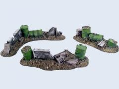 Battlefield Ruins Barrels Set #1