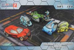 Wrecked Cars Set - City
