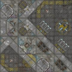 Terminus Segments Modular Mat - Industrial