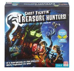 Ghost Fighting Treasure Hunters