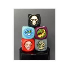 Monster Dice Set #2 (5) (Limited Edition)