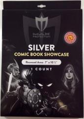 Comic Book Showcase - Silver - UV 97%