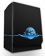 Deck Box - Elemental Medallion, Blue